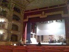 歌劇場のリハーサル風景