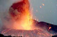 エトナ山の噴火
